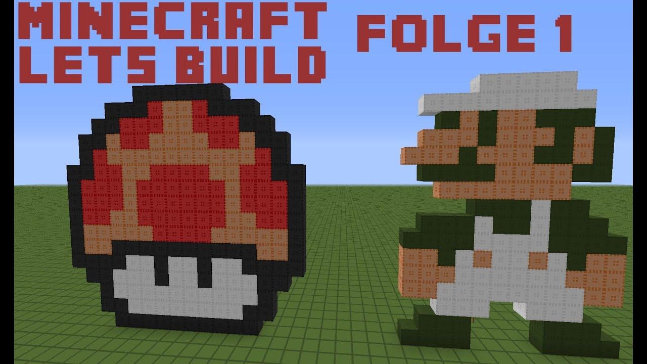 how to make luigi in minecraft