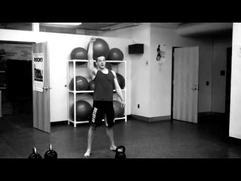 Kettlebell Swing,Clean,Squat,Press, and Snatch Complex Image 1