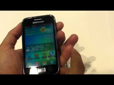 Samsung Galaxy Ace Plus S7500 review HD ( in ROmana ) - MWC2012 - www.TelefonulTau.eu -