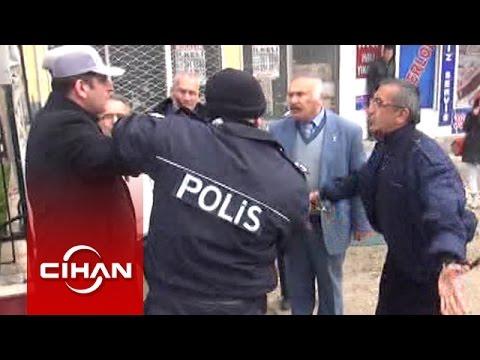 Berkin Elvan eylemcilerini gözaltına alan polise vatandaş tepkisi