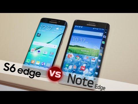 Samsung Galaxy S6 Edge vs Note Edge | Comparativa en Español