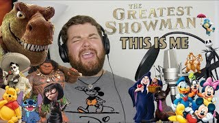 Disney and Pixar Sings This is Me From the Greatest Showman