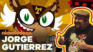 Jorge R. Gutiérrez, Co-Creator Of El Tigre | Nick Talks | Nickelodeon Animation