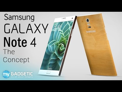 Samsung Galaxy Note 4 - Bamboo & Ceramic Edition Concept Tour