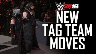 WWE 2K19 ALL NEW TAG TEAM MOVES & MORE! (WWE 2K19 Gameplay)