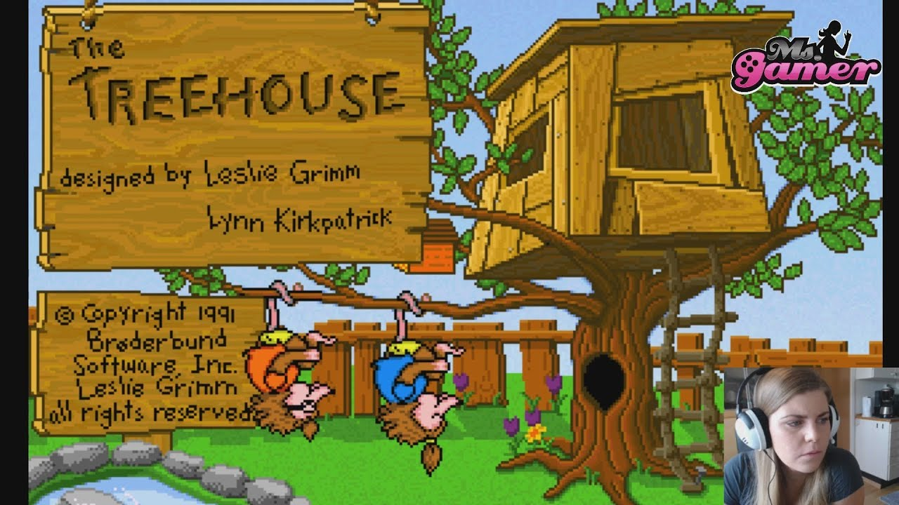 The treehouse br derbund software pc 1991 played in for Classic house 1991