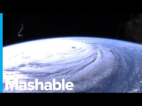 New space images show massive size of Hurricane Florence