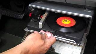 1960 Plymouth Fury record player
