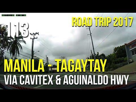 Road Trip #113 - Manila to Tagaytay via Cavitex and Aguinaldo Highway