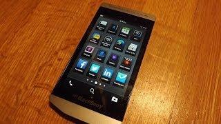 Porsche Design BlackBerry P'9982 unboxing video
