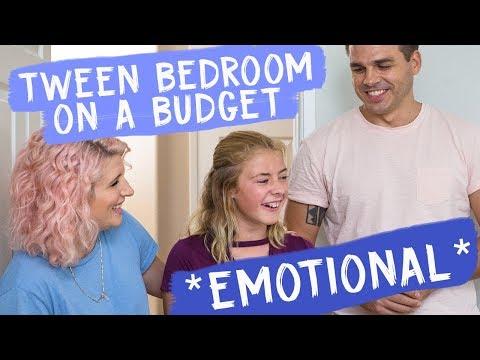 Tween Bedroom on a Budget *emotional* | Mr. Kate Decorates