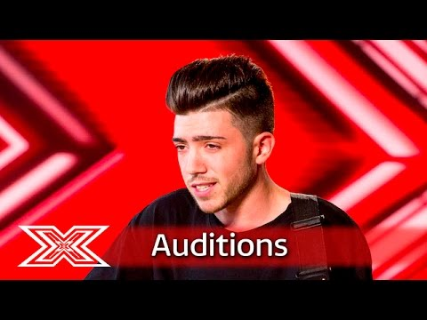 Emotions run high for Christian Burrows  Auditions Week 1  The X Factor UK 2016