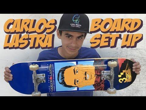 CARLOS LASTRA 3 BLOCK PRO BOARD SET UP !!!