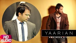 Latest Punjabi Song 2017 | Yaariyan | Judaa | Amrinder Gill | Dr Zeus | Punjabi Audio Song
