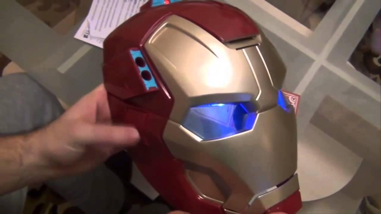 Как сделать маску железного человека всю