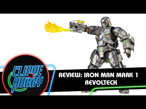 Review: Action Figure Homem de Ferro Mark 1 - Revoltech - Iron Man Series Marvel