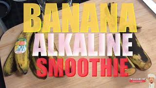 Alkaline Vegan Keto Baby Burro Banana Smoothie - The Alkaline Chef #3 - #DrSebi