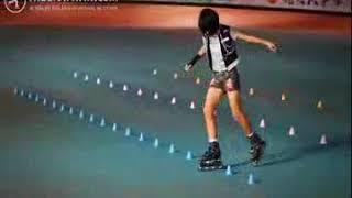 Biểu diễn trượt patin nghệ thuật   Thegioipatin com