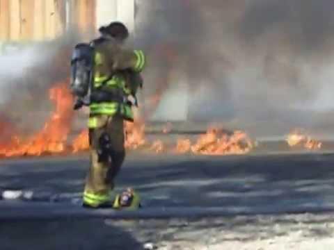 House fire Fernley NV truck explodes!
