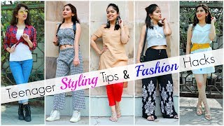 Styling TIPS & Fashion HACKS for TEENAGER Girls .. | #Affordable #Budget #Anaysa