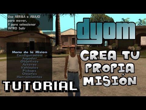 Tutorial loquendo crea tu misión con DYOM GTA San Andreas + link de descarga