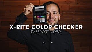 Como usar Passport Color Checker X-rite
