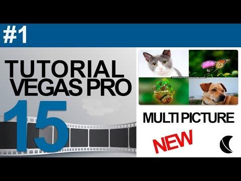 Tutorial Vegas Pro 15   Multi Picture in Picture Imagen dentro de Imagen
