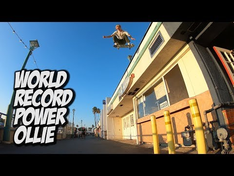 WORLD RECORD POWER OLLIE FEAT.  SHANE BOYER AND ANDY ANDERSON !!! - NKA VIDS -