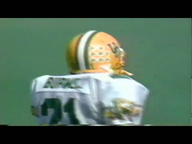 Oregon RB Sean Burwell 29 yard gain on screen pass vs. Cal 10-12-1991