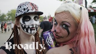 Competing for Miss Juggalette at the Gathering of the Juggalos