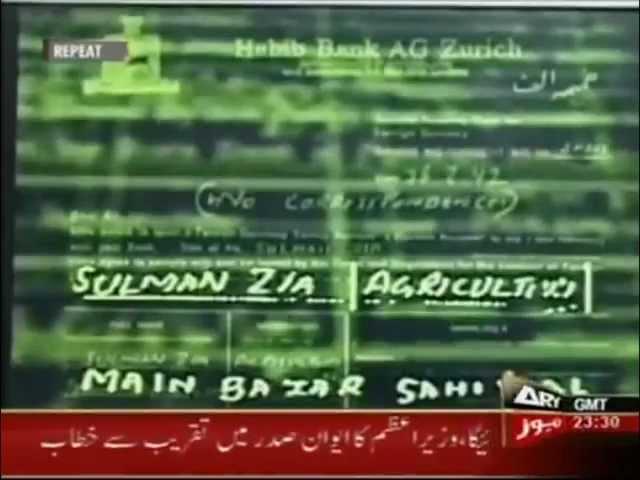 From Pakistan to Park Lane - Nawaz Sharif Corruption and Money Laundering