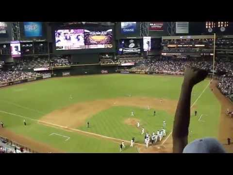 Diamondbacks vs. Padres (9/10/11; 2001 World Series Championship Reunion Game: Video 6 of 6)