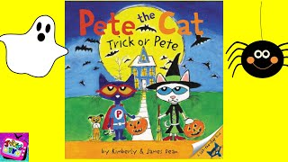 Halloween Story for kids   Pete the Cat Trick or Pete