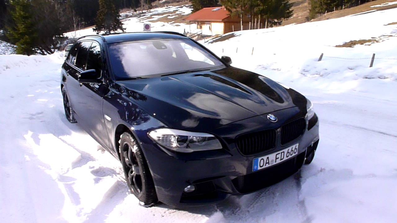 Bmw 530d Carbonschwarz Metallic Youtube