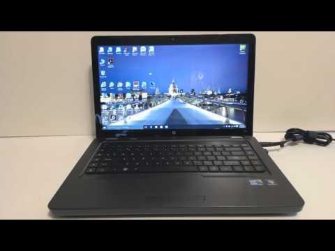 """OPTIMEX MEDIA HP G62x-400 Intel i3 CPU 2.27GHz, SSD 256GB, 8GB DDR3, Windows 10 Pro, 15.6"""" SCREEN"""