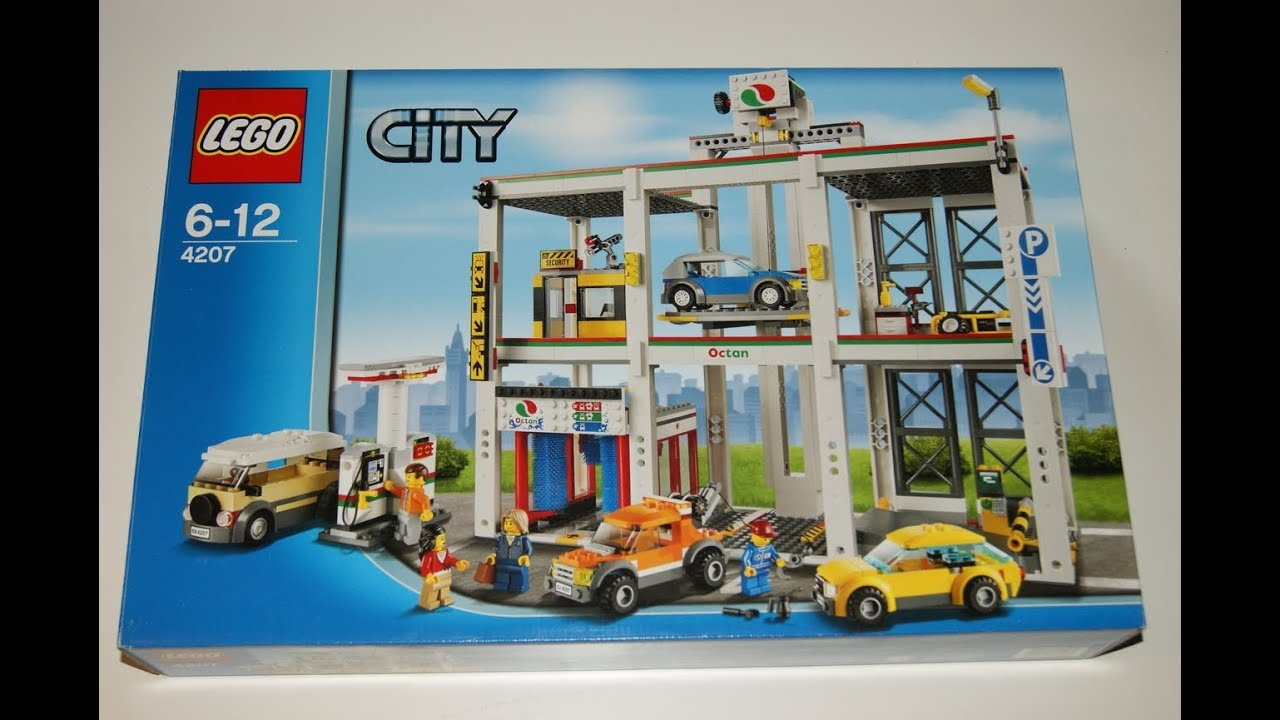 Lego City 2012 4207 City Garage Stop Motion Review