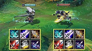 YASUO vs MASTER YI FULL BUILD FIGHTS & Best Moments!