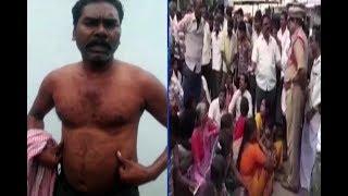 Police Assault On Farmer In Mahabubnagar District
