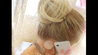 Top Knot / Cone Bun Hair Tutorial