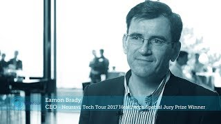 Neuravi's way to success - Interview with Eamon Brady, Neuravi at Tech Tour 2017 Healthtech Summit