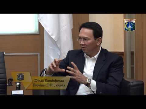 19 Juli 2016 Gub Basuki T. Purnama Menerima CEO Open Government Partnership