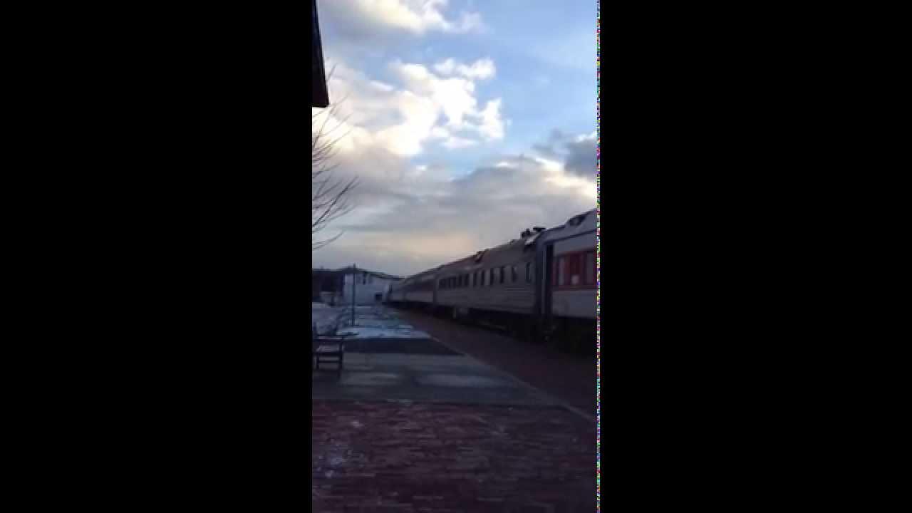 Wm emd bl2 on the polar express at elkins wv youtube