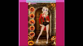 Princess Halloween Carnival   baby games   games for girls