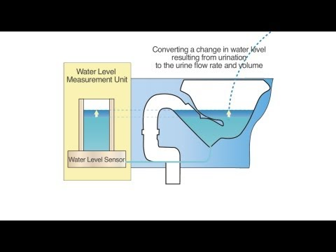 Uroflowmeter Measures Urine Volume Simply by Using Toilet #DigInfo