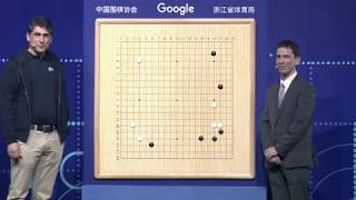 The Future of Go Summit: AlphaGo & Ke Jie match 3 moves analysis