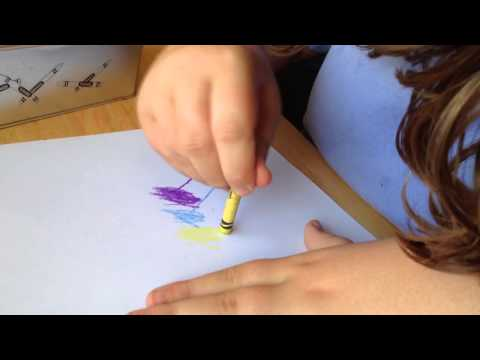 Abbey, The Artist, At It Again!  Autism non Verbal video