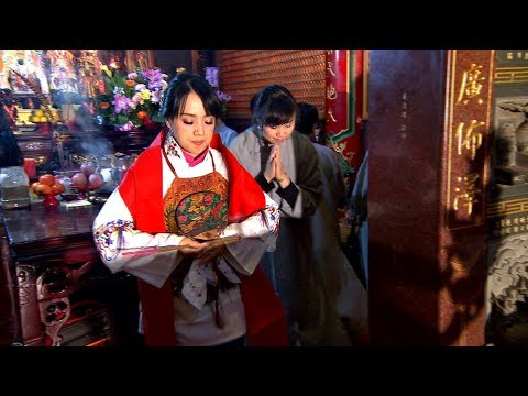 台綜-寶島神很大-20180110-服務神明不再是男人的專利 罕見氣質的媽祖代言人