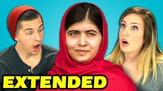 Extended - Teens React to Malala Yousafzai