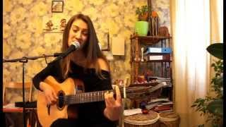 """Samba de verao"" acoustic guitar COVER by Polina Tyrina"