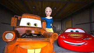 Elsa Unfreezes FROZEN Mater | Act of True Friendship | Cars Toys Movies Animated Short EPISODE 19
